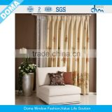 5 year warranty Luxury design fashion jacquard curtain fabric for home textile/any colour is available