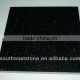 A grade Polished Black Galaxy granite tiles 60x60
