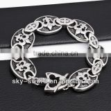Fashion jewelry stainless steel chain wrist watch LB10149