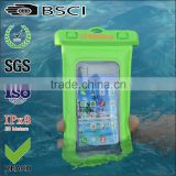2016 100% pvc waterproof pouch for phone