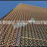 High Quality Metal Conveyor Belt mesh For exterior wall decoration
