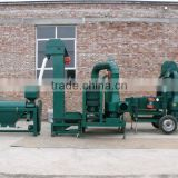 dry pulses cleaning processing line
