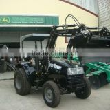High quality and good price Front end loader for tractor, 4in1 bucket, quick linkage, pallet fork, timber grapple.