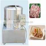 alibaba gold premier supplier easy operation stainless steel chicken feet peeling machine
