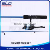 kids fishing rod and reel fishing combo set for ready to fish