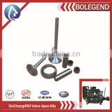 diesel engine valve 4pcs group/valve kits for construction machine, atuo, boat, generator set,