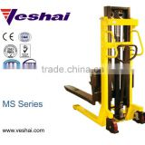 CE 1000kg manual hand pump hydraulic stacker VH-MS-100/20
