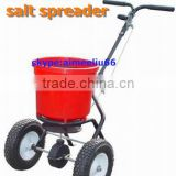 durable poly hopper seed fertilizer spraying cart