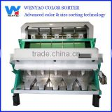 5 chutes Low power consumption Recycled HDPE CCD color sorting machine