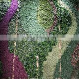 artificial grass wall china factory (5X5.5m) pattern plant wall