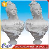 Handcrafted marble lady bust statue used for collection NTMS-B002LI