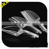 High quality disposable party food scoops for sale, Clear plastic food scoops manufacturer