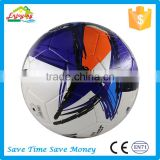 PVC Leather Material official standard pu glue laminated soccer ball with customize logo
