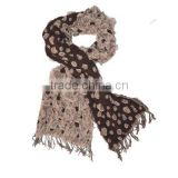 2014 fashionable ladies fancy yarns scarf