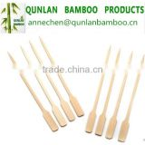 Natural disposable bamboo teppo skewer