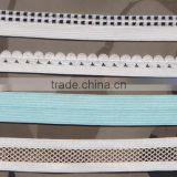 Custom elastic nylon tape for swimwear/bikini/swimwear