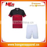 Hongen 100% polyester tennis wear fashion customized /men custom logo badminton wear