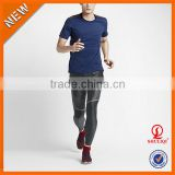 2016 good elasticity mens tights pantyhose sweat pants sport leggings for running