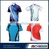 no minimum custom badminton polo shirt pakistan