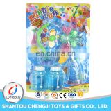 Summer toys electric led bubble gun with music