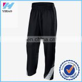 Yihao 2015 hot selling men custom made skinny sweatpants gym bodybuilding pants running jogger pants