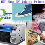 SLJET canverse vans shoes flatbed inkjet uv curing printer printing machine