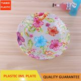 TX0318 PLASTIC LARGE SIZE ROUND PLATE CHEAP PLATE FOOD PLATE