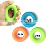Durable O Shape Silicone Exercise Hand Grip