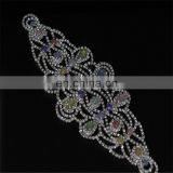 Yanjing Jewelry rhinestone applique crystal rhinestone applique for wedding dress