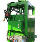 INquiry about CE certificate high quality best price hydraulic baler machine for used clothes
