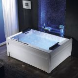 drop in type sexy massage bathtub/Whirlpools bathtubs for two person