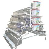 Poultry Farming 3 Tier 96 128 Chicken Laying Battery Cages