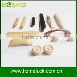 Natural material custom wooden products and kitchen cabinets wardrobe wooden handles