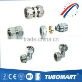 China Supply Pex Al Pex Pipe Fittings With Brass Material                                                                         Quality Choice
