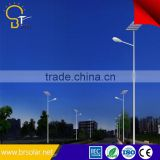 Applied in More than 50 Countries 5 years Warranty Stand Along solar street light with battery lithium