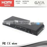 HDMI Factory Price hdmi splitter 1 input 4 output HDMI splitter 1x4 Support 3D 1080P HDCP CEC