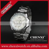 Luxury jewelry series watch 3 decorated circle men's sport watch with watch box 014AMS