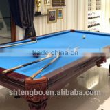 Solid wood pool table billard table indoor game folding tables