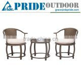 Chinese Style Rattan Wicker Garden Chair And Table Outdoor Restaurants Bistro Coffee Shop Dining Tables And Chairs