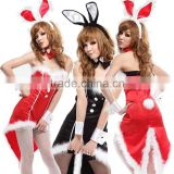 Sex cosplay rabbit dress uniforms pole dance Halloween Christmas costumes tuxedo