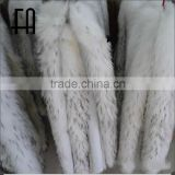 Factory direct wholesale price white raccoon fur collar for down coat