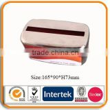 custom printed metal napkin holder tissue tin box                                                                         Quality Choice