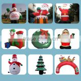 Commercial activities christmas decoration Commercial inflatable advertising cartoon/inflatable advertisement item