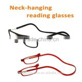 MAX Wholesale Neck-hanging Megnet Folding Reading Glasses IN STOCK for Old People