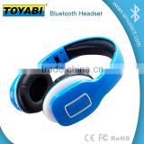Foldable Wireless Bluetooth Over-ear Stereo Headphone Headset Earphones, Stereo Audio with Hands-free Calling Function