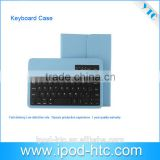 Colorful wireless Bluetooth Keyboard Cover, wholesale bluetooth keyboard case, New bluetooth keyboard cover