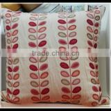 beautiful square pillow cover for wedding rooms,chrismas pillow covers, theme hotel room use body cushions