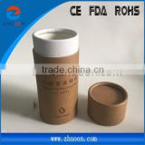 2015 hot sale Types of round paper tube for eliquid bottles packaging paper tube wholesale