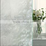 Removable with Glue Static Electricity Decoration Sea wave pattern Frosted Glass Window Film