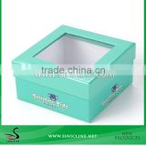 Sinicline Factory Deisgn Kids Shoe Box With PVC Window